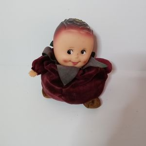 Small small world cabbage vtg doll collectible